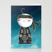 cryaotic Stationery Cards featuring Solid Cry by The Dragon Studio Store