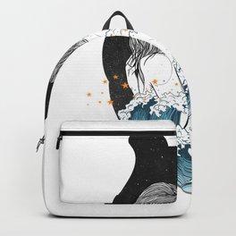 The ocean heart. Backpack