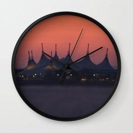 Butlins Minehead Sunrise Wall Clock