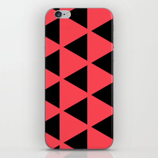 Sleyer Black on Pink Pattern iPhone & iPod Skin