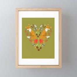 Fox River Valley Folk Art Framed Mini Art Print
