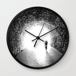 San Sebastian, Spain - Into the Light Wall Clock