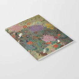 flower【Japanese painting】 Notebook