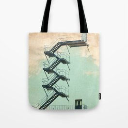 Stairway to the Clouds Tote Bag