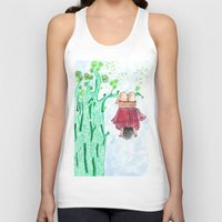 let it go Tank Tops featuring LET GO! by Pritika Mathur