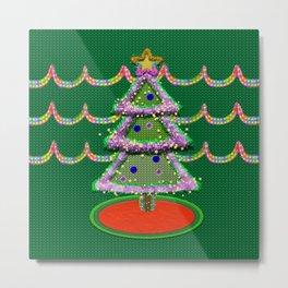 I'm not a Tacky Christmas Sweater Metal Print