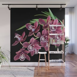 ROYAL ORCHIDS Wall Mural