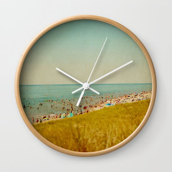 The Last Days of Summer Wall Clock