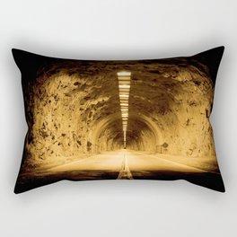 Late Hike Through Yosemite Tunnel Rectangular Pillow