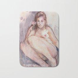 Pink Nude Bath Mat