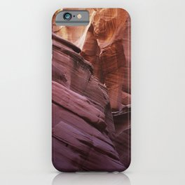 Magical Slot Canyon in Arizona iPhone Case