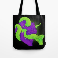 Neon Death Tote Bag