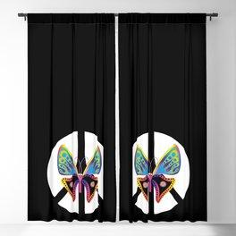 butterfly weekend Blackout Curtain