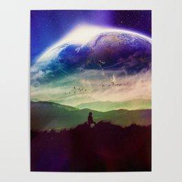 An Explorer's Journey Poster