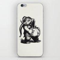 ganesha iPhone & iPod Skins featuring Ganesha by MAZUR