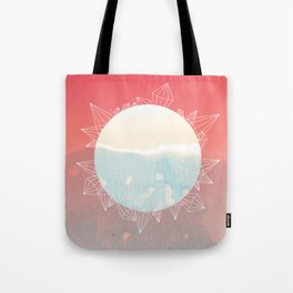 Crystal Sunrise Tote Bag