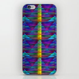 Geometrical-colorplay-pattern #2 iPhone Skin