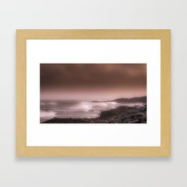 Bronze Coast Framed Art Print