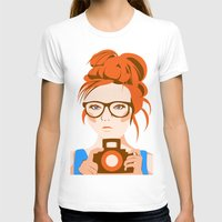 photographer T-shirts featuring Photographer by KylaArt