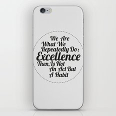 EXCELLENCE 1 iPhone & iPod Skin