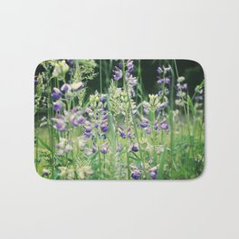 Amethyst Meadow Bath Mat