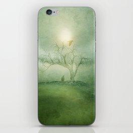 Greenery Sunrise iPhone Skin