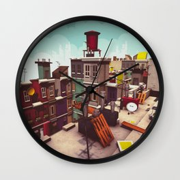 On the roofs of Inner Town Wall Clock