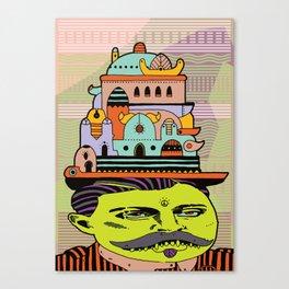 GLAD HATTER 4 Canvas Print