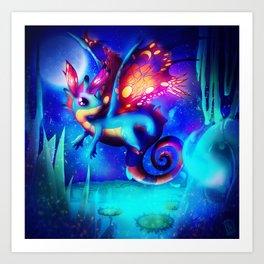 Fairy Dragon Art Print