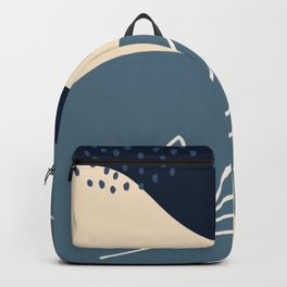 NATURE ABSTRACT ART Backpack