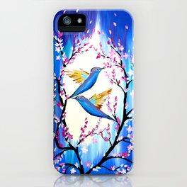 Cherry Blossom Saga iPhone Case