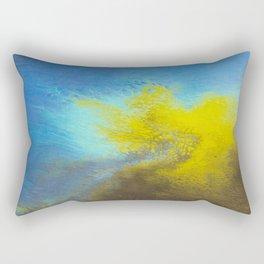 Sweetness 0007- Iridescent Fluid Painting Rectangular Pillow