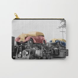 Vintage Car Carrier Carry-All Pouch