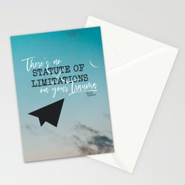 There's No Statute of Limitations on Your Trauma Stationery Cards