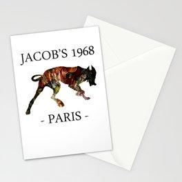 Mad Dog I Jacob's 1968 fashion Paris Stationery Cards