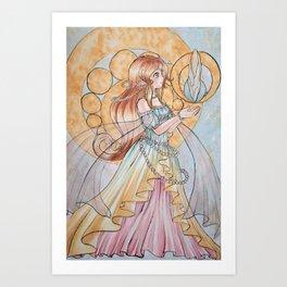 The Beginning of Fate  Art Print