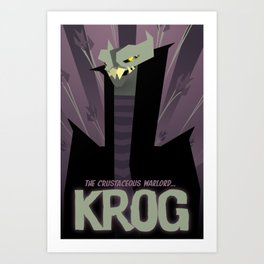 KROG -  Supernova Art Print
