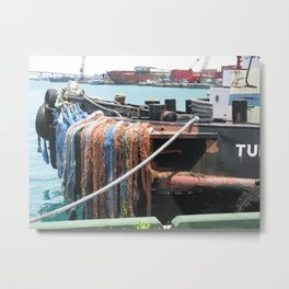Tug Boat Metal Print