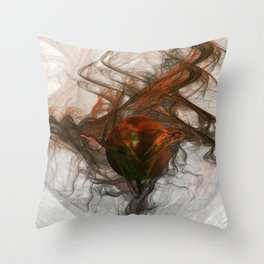 Fractal Fantasy 2 Throw Pillow