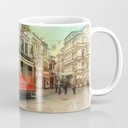 Old tram in Istanbul Coffee Mug