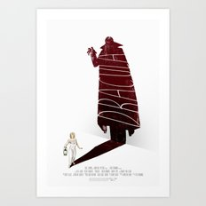 Dracula Movie Poster Art Print
