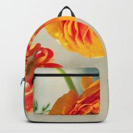Orange you beautiful Ranculus? Backpack