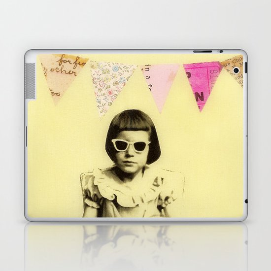 """Partially Amused"" Laptop & iPad Skin"