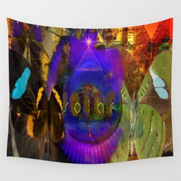 The Butterfly Effective Wall Tapestry