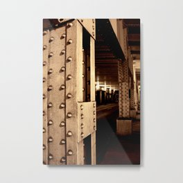 All About Structure Metal Print