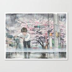 Bicycle Boy 06 Canvas Print