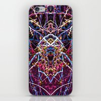 baphomet iPhone & iPod Skins featuring Baphomet 4 by Kevin Kolstad