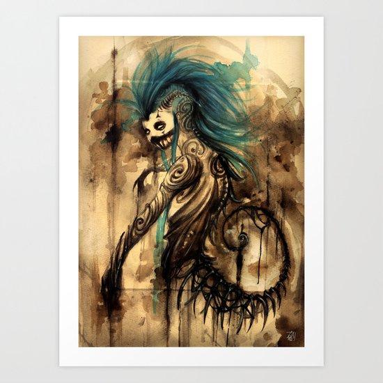 DROP - Soul of the SEA Art Print