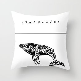 ryhävalas Throw Pillow