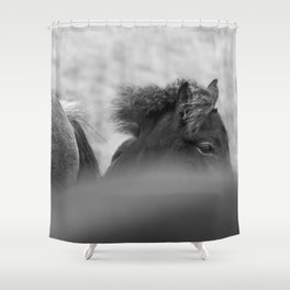 Shy Guy Shower Curtain